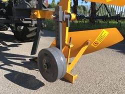 dreh wendepflug mit stützrad und kipphebel für traktoren mod drp 35