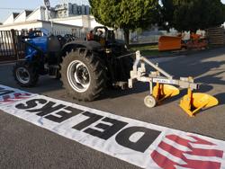 zweischarpflug mit rad für traktoren wie z b carraro mod ddp 30