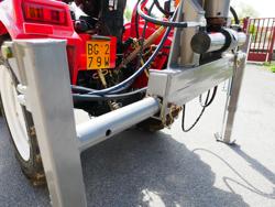 forstkran mit holzzange passend für traktoren mod crab 3000