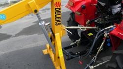 hydraulischer hubkran für kleintraktoren mod el 500