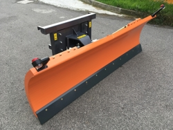 schneeschild mit euroaufnahme für frontlader mittelschwere ausführung mod ln 220 e