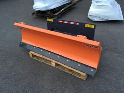 schneepflug für minibagger oder gabelstapler 150 cm leichte ausführung mod lns 150 m