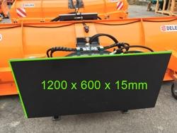 schneeschild für schauffellader schwere ausführung mod ssh 04 2 2 w