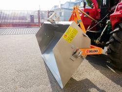 mechanische kippschaufel 140 cm breit leichte ausführung mod prm 140 l