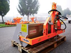 hydraulische heckschaufel 120 cm breit leichte ausführung mod pri 120 l