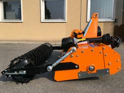 umkehrfräse mit feinkrümmelwalze für traktor mod dfu 160