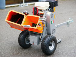 benzin häcksler schredder mit lifan motor mod dk 800 lf