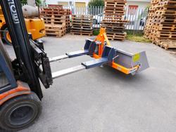 mechanische kippmulde 140cm breit für gabelstapler mod prm 140 lm