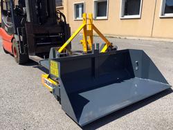 mechanische kippmulde 140cm breit schwere ausführung für gabelstapler mod prm 140 hm
