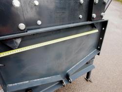 schneeschild mit universalplatte schwere ausführung mod ssh 04 2 2 a