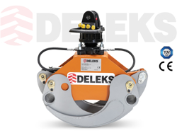 holzzange holzgreifer mit rotator für kräne und mini bagger 1 8 bis 3 5t mod dk 11c gr 30f