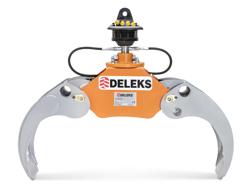 holzzange holzgreifer mit rotator für kräne und mini bagger 1 8 bis 3 5t mod dk 11c gr 30