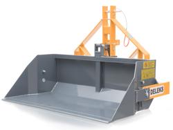 mechanische heckschaufel 160 cm breit schwere ausführung mod prm 160 h