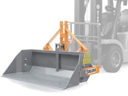 mechanische kippmulde 200cm breit scchwere ausführung für gabelstapler mod prm 200 hm