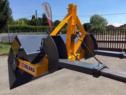 hydraulische heckschaufel 200 cm breit schwere ausführung für gabelstapler mod pri 200 hm