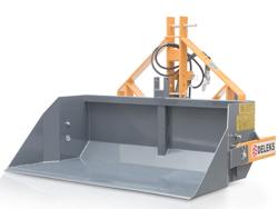 hydraulische kippmulde 160 cm breit scchwere ausführung mod pri 160 h