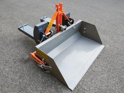 hydraulische heckschaufel 140 cm breit für gabelstapler mod pri 140 lm