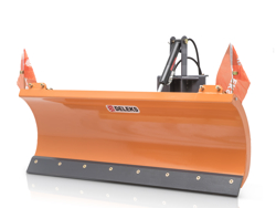 schneeschild mit universalplatte 130cm leichte ausführung mod lns 130 a