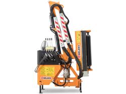 hydraulischer böschungsmulcher mit auslegearm für traktor mod airone 60