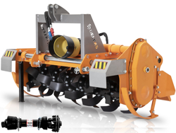 bodenfräse für traktoren hydraulische seitenverstellung mod dfh idr 135