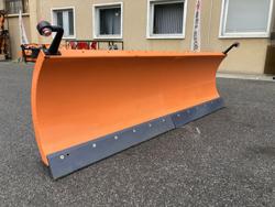 schneeschild mit euroaufnahme für frontlader mittelschwere ausführung mod ln 250 e