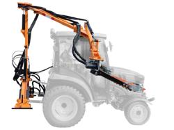 hydraulischer arm mit 130 hcm mähbalken mod falco 130 h