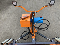 schneeschild für geländewagen leichte ausführung mod lns 190 j