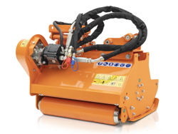 hydraulischer mulchkopf für minibagger mod arh 80