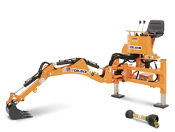 mini heckbagger für traktor inkl baggerlöffel mod drs 1000t