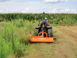 mittelschwerer mulcher mit seitenverstellung für alle mittleren traktoren mit reifen oder gleisketten mod tigre 160