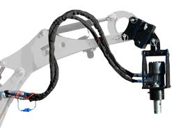 hydraulischer erdbohrer für minibagger grhd