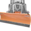 schneeschilder für traktoren mit universalplatte deleks